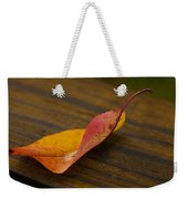 Single Leaf Weekender Tote Bag