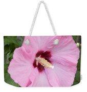 Single Pink Weekender Tote Bag