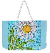 Single Summer Daisy Weekender Tote Bag