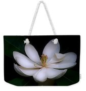 Sweet White Magnolia Bloom Weekender Tote Bag