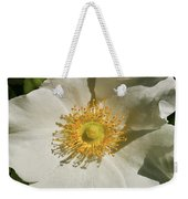 Single White Rose Db Weekender Tote Bag
