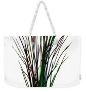 Single Winter Tree Painting Isolated Weekender Tote Bag