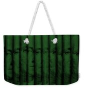 Singles In Dark Green Weekender Tote Bag