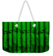 Singles In Green Weekender Tote Bag