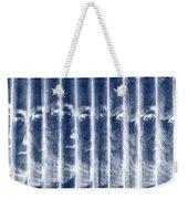Singles In Negative Blue Weekender Tote Bag