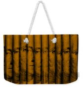 Singles In Orange Weekender Tote Bag