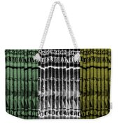 Singles In Tri Colors Weekender Tote Bag