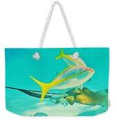 Singray City Cayman Islands Three Weekender Tote Bag
