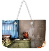 Sink - The Jug And The Window Weekender Tote Bag by Mike Savad