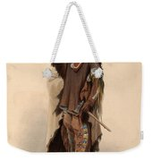 Sioux Warrior Weekender Tote Bag