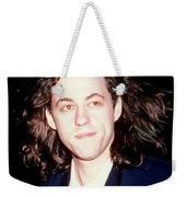 Sir Bob Geldorf 1989 Weekender Tote Bag