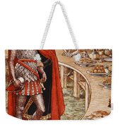 Sir Galahad Is Brought To The Court Of King Arthur Weekender Tote Bag