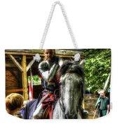 Sir Lancelot Du Lac Weekender Tote Bag