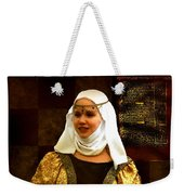 Maid Marian - Sire I Kan Not Quod She Weekender Tote Bag