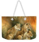 Sisterhood Of The Lions Weekender Tote Bag
