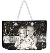 Sisters In Sepia Weekender Tote Bag