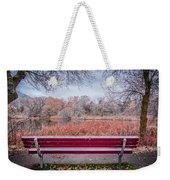 Sit With Me Weekender Tote Bag