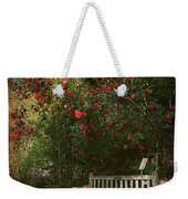 Sit With Me Here Weekender Tote Bag by Laurie Search