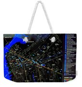 Sites And Subways Weekender Tote Bag