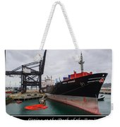 Sitting At The Dock Of The Bay Weekender Tote Bag