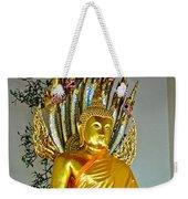 Sitting Buddha In Wat Po In Bangkok-thailand Weekender Tote Bag