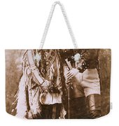 Sitting Bull And Buffalo Bill Weekender Tote Bag