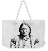 Sitting Bull Weekender Tote Bag by War Is Hell Store