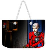 Sitting For The Camera Weekender Tote Bag