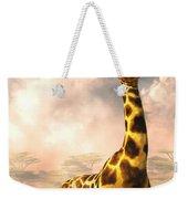 Sitting Giraffe Weekender Tote Bag