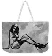 Sitting In The Clouds Weekender Tote Bag