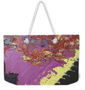 Sitting On The Edge Of The Earth Weekender Tote Bag