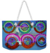 Six American Spring Icons Weekender Tote Bag