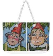 Six Gnomes Horizontal Weekender Tote Bag