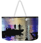 Six On A Boat Weekender Tote Bag