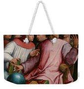 Six Tuscan Poets Weekender Tote Bag by Giorgio Vasari