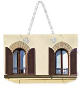 Six Windows Of Florence Weekender Tote Bag