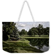 Sixth Hole Reflections Weekender Tote Bag