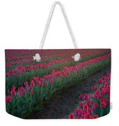 Skagit Valley Blazing Sunrise Weekender Tote Bag