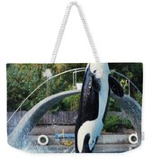 Skana Orca Vancouver Aquarium 1974 Weekender Tote Bag