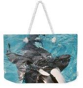 Skana Orca Vancouver Aquarium Pat Hathaway Photo1974 Weekender Tote Bag