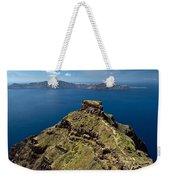 Skaros On Santorini Weekender Tote Bag