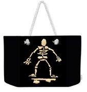 Skateboard Skeleton Weekender Tote Bag