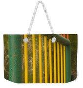 Skc 3266 Colorful Gate Weekender Tote Bag