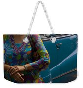 Skc 4111 The Vintage Weekender Tote Bag