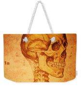 Skeleton And Heart Model Weekender Tote Bag