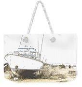 Skeleton Boat Weekender Tote Bag