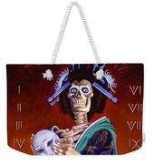 Skeleton Geisha Ouija Board Weekender Tote Bag
