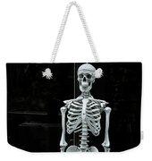 Skeleton New York City Weekender Tote Bag