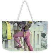 Sketch For The Passions Love Weekender Tote Bag by Richard Dadd