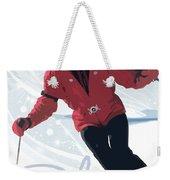 Ski 3 Weekender Tote Bag